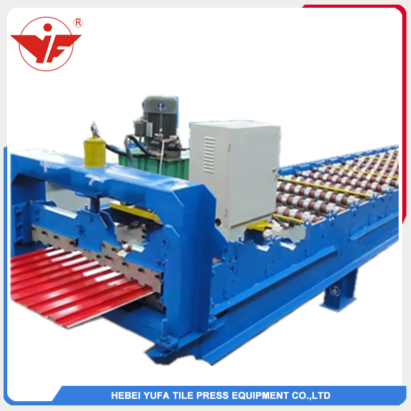 1000mm Austria shutter door forming machine