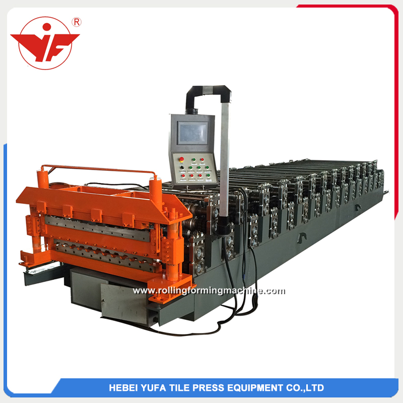 C8 and C21 double layer roll forming machine