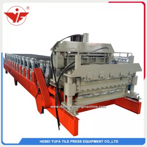 European high standard double layer roll forming machine