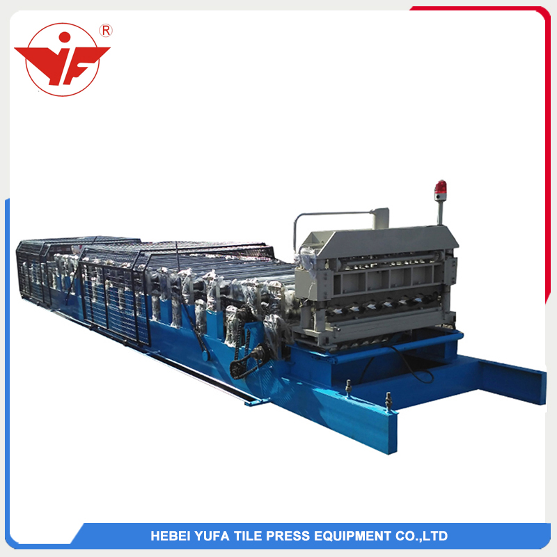 High standard double layer roll forming machine
