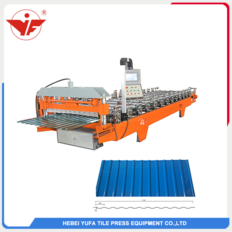 Russia hot sell C10 roofing panel roll forming machine