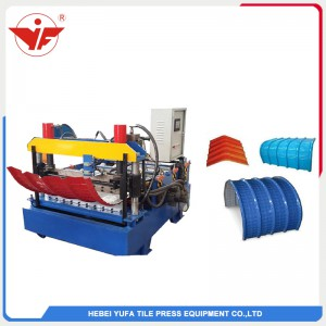 Horizontal criping roll forming machine