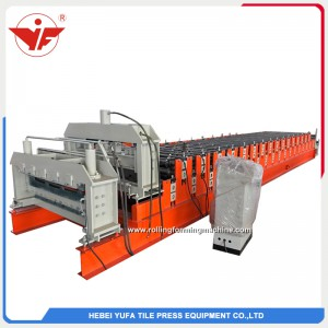 India hot sell double layer roll forming machine