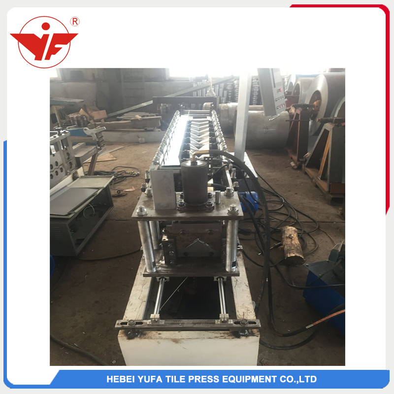 Angle steel machine