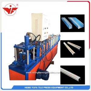 Argentina hot sell round U profile roll forming machine