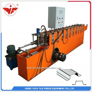 Egypt hot sell omega roll forming machine