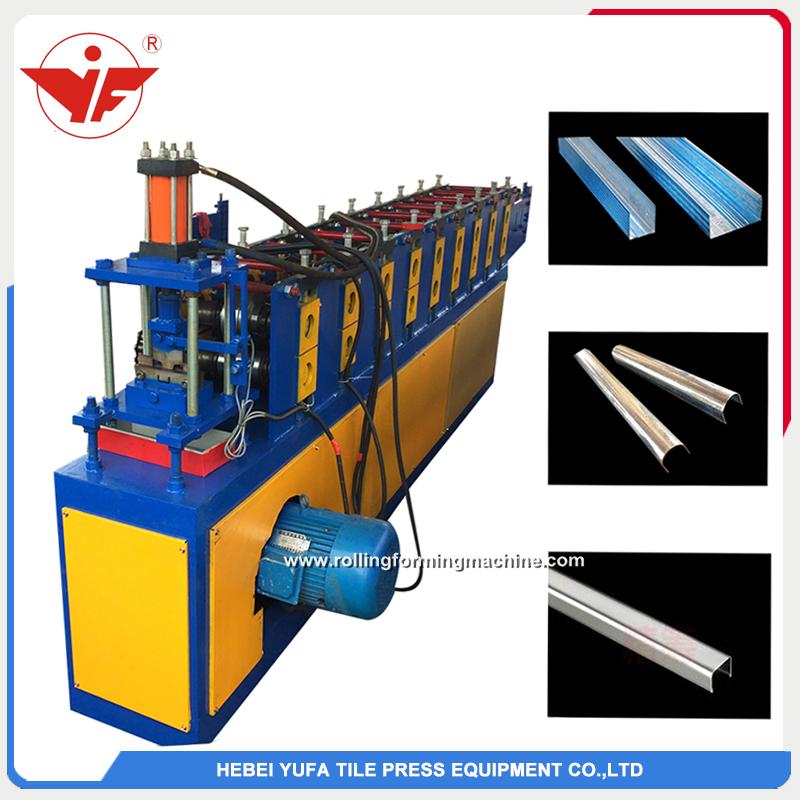 U purlin roll forming machine