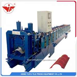 312 ridge cap roll forming machine