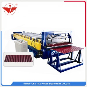 1064 corrugated roof sheet roll forming machine