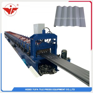 310 nakatagong corrugated roll forming machine