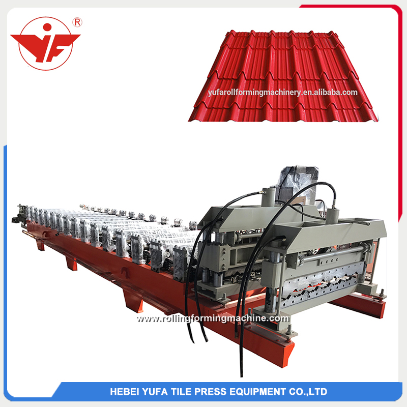 south africa hot sell 1000 step tile roofing steel making machine