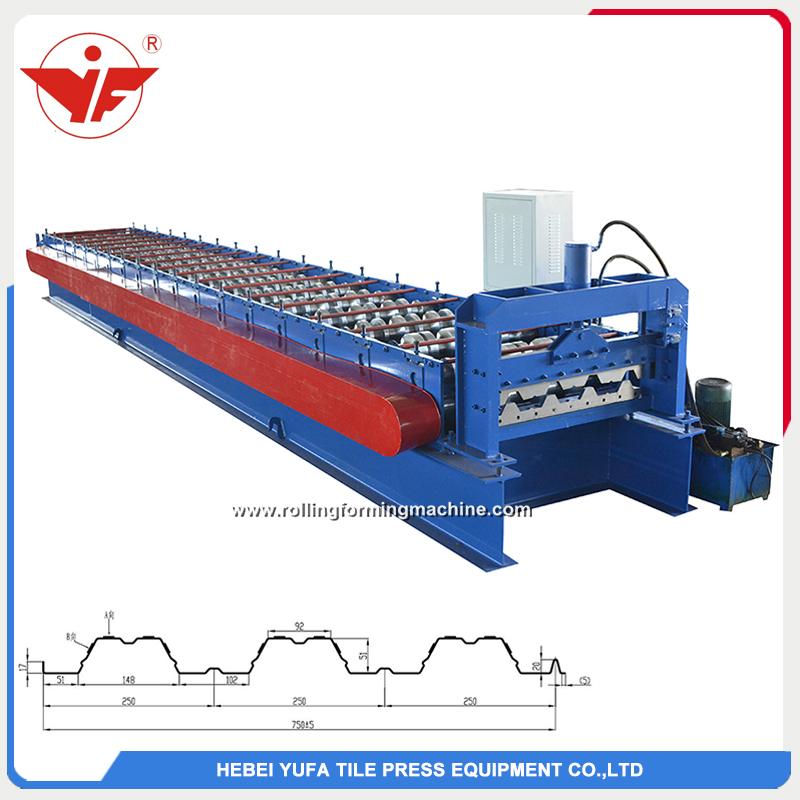 750 floor deck roll forming machine
