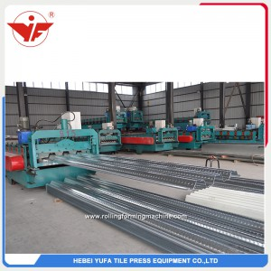 915 floor deck roll forming machine