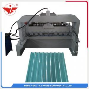 Azərbaycan je koristio stroj za oblikovanje valjaka krovnih ploča