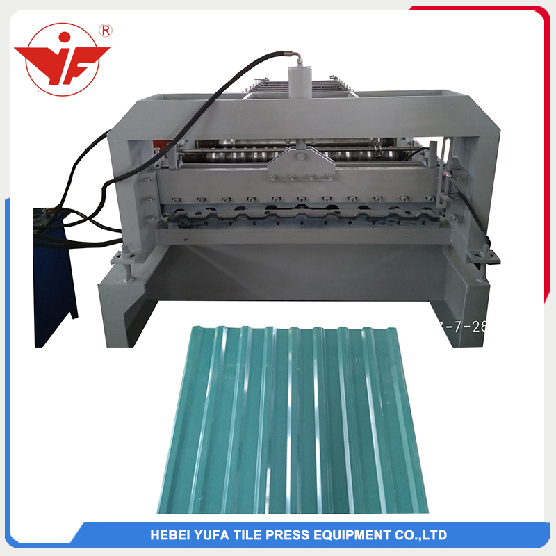 Azərbaycan used roofing panel roll forming machine