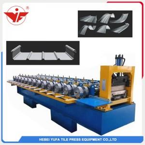 Portable standing seam roofing panel machine